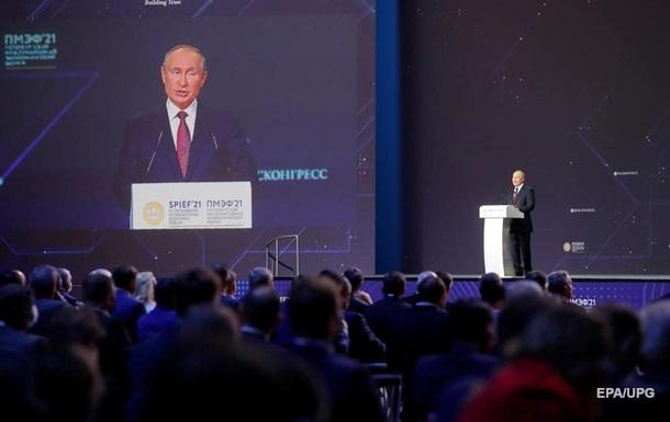 Путін озвучив теми для обговорення з Байденом