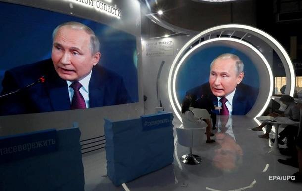Путін про інцидент у Білорусі: Це нас не стосується