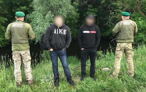 ГПСУ задержала пытавшихся переплыть пограничную реку россиян