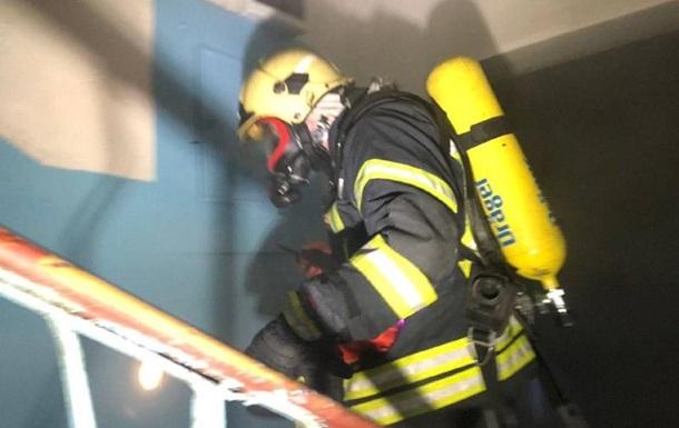 В Одесі під час пожежі в гуртожитку постраждав студент