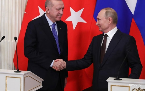 Ердоган скаржився Зеленському на тиск з боку Путіна - ЗМІ