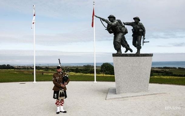 Годовщина высадки в Нормандии: установлен монумент