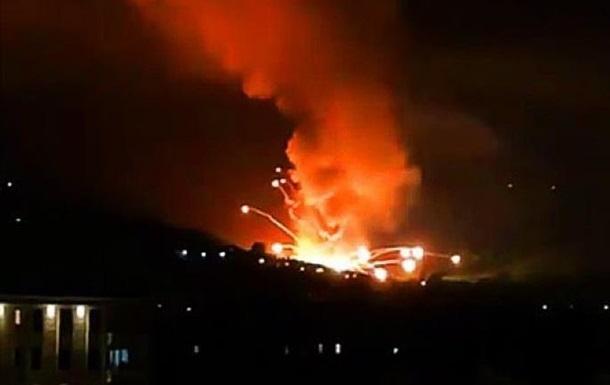 У Сербії на військовому складі новий вибух