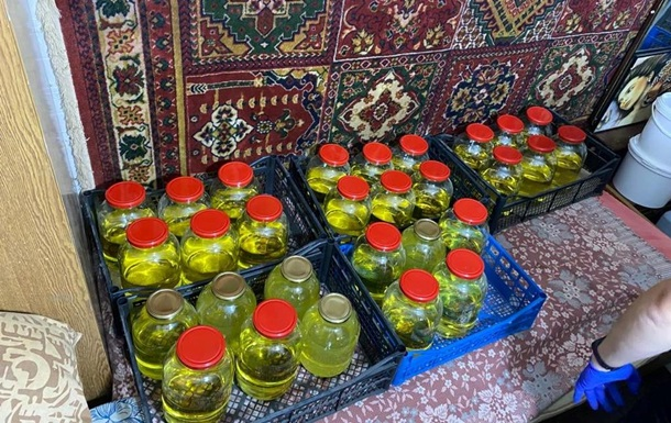 На Прикарпатті затримали виробників амфетаміну
