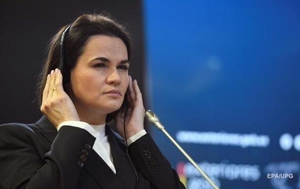Тихановську в Чехії прийняли як президента Білорусі