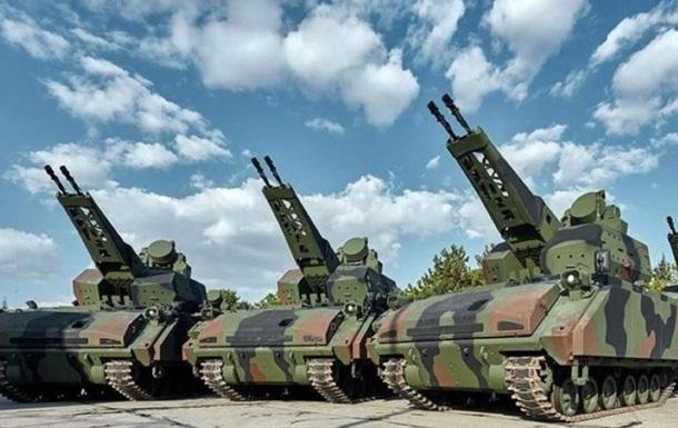 Турция предлагает Украине купить самоходный зенитный комплекс Korkut