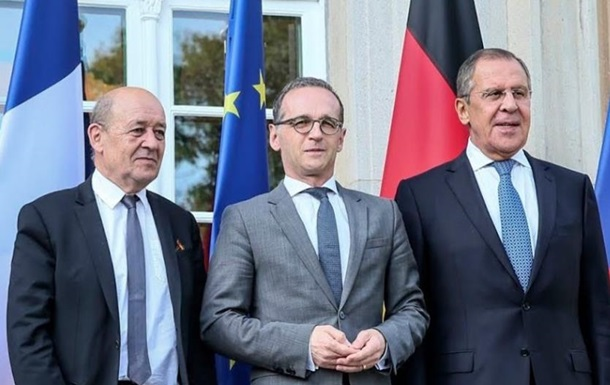 Главы МИД РФ, Германии и Франции обсудили Донбасс