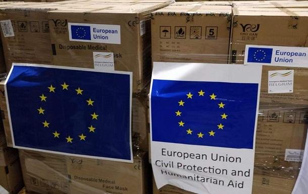ЄС виділив Україні 35 млн масок і 24 апарати ШВЛ