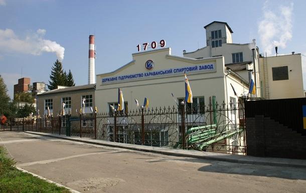 Еще один завод Укрспирта продали за 100 млн гривен
