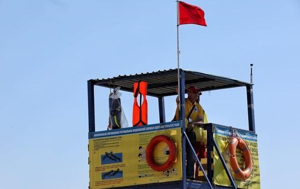 На пляжі Одеси рятувальники провели навчання