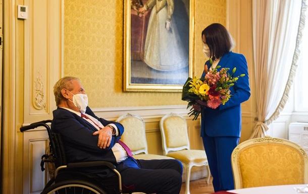 Президент Чехии пожелал Беларуси победы над  последним диктатором Европы