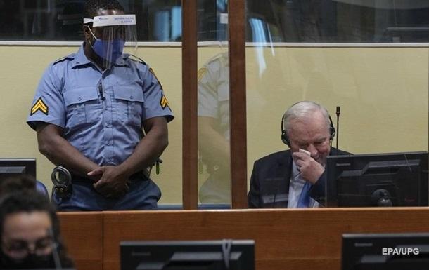 У Гаазі підтвердили довічний вирок Ратко Младичу