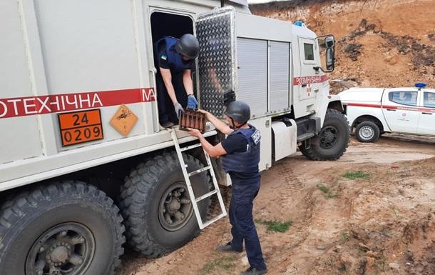 На Донбассе за сутки найдено 1,2 тысячи взрывоопасных предметов