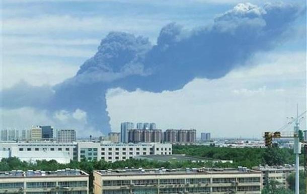 В Китае произошел пожар на крупном химзаводе - СМИ