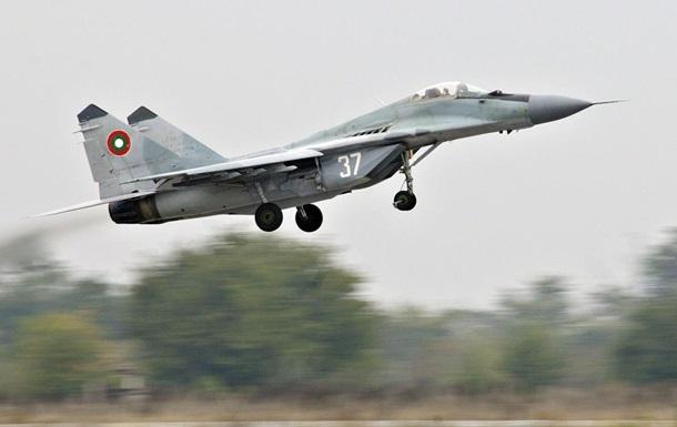 Болгарский истребитель МиГ-29 рухнул в Черное море