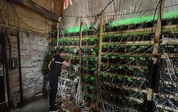 СБУ заблокувала роботу майнінг-ферми