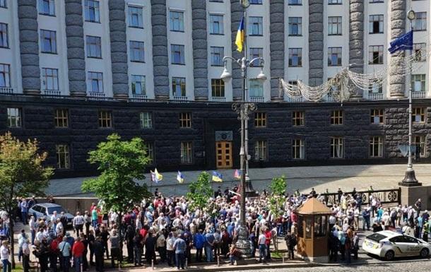 У Києві та Житомирі протестують пенсіонери-силовики