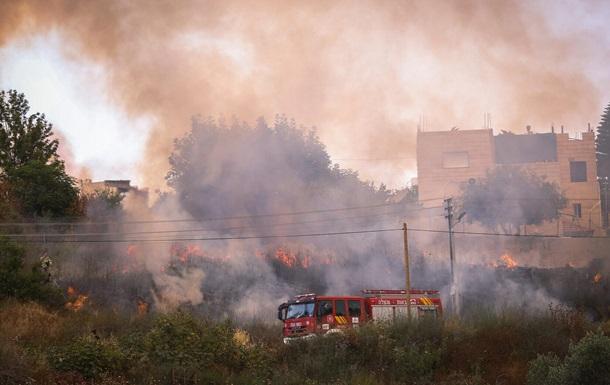 Пожежі в Єрусалимі: триває евакуація, перервано залізничне сполучення