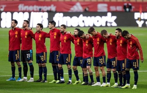 Игроки сборной Испании сдали тесты на коронавирус