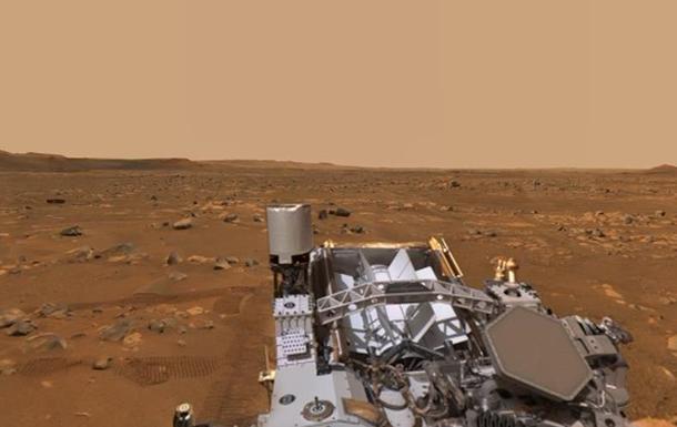 Опублікована панорама Марса зі звуками планети