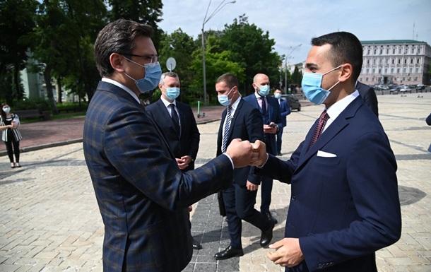 В Україну прибув міністр закордонних справ Італії