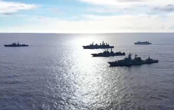 Россия проводит крупные учения в Тихом океане