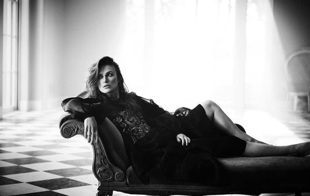 Кира Найтли эффектно позировала для Harper s Bazaar