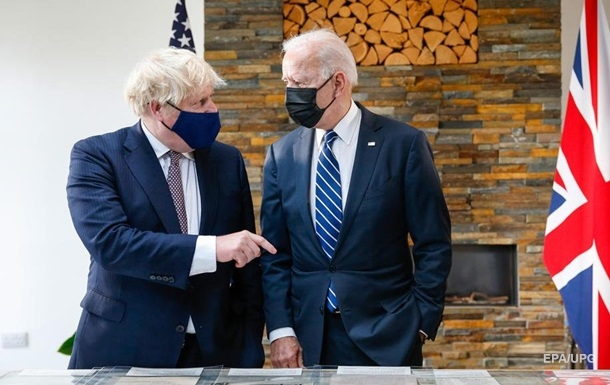 Джонсон і Байден оновили Атлантичну хартію