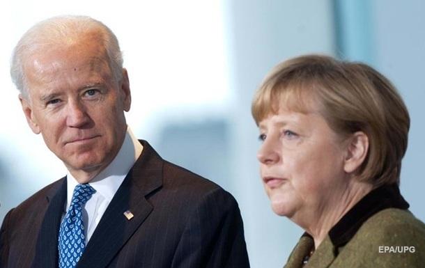 Названа дата встречи Байдена с Меркель