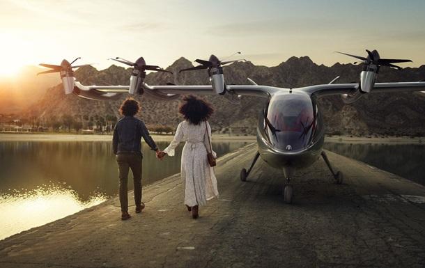 В США стартап представил электрическое аэротакси
