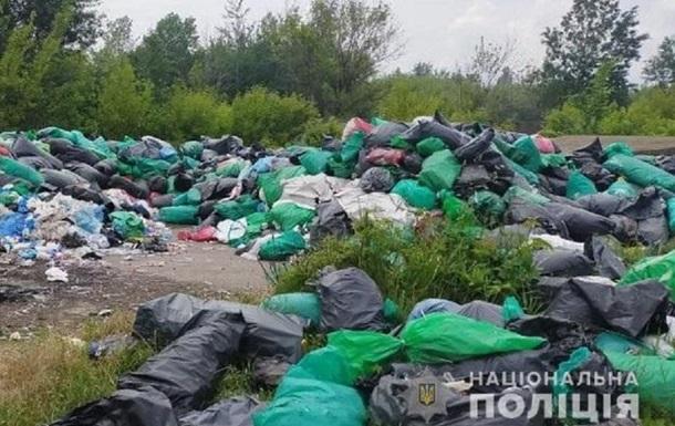 В Сумах обнаружили свалку медицинских отходов