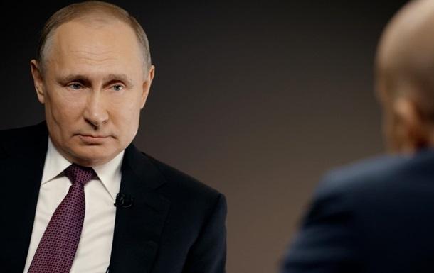Путін уперше за три роки дав інтерв ю американському ЗМІ