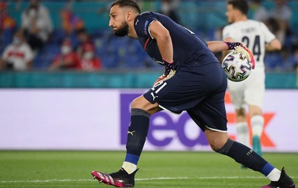 Доннарумма встановив рекорд збірної Італії