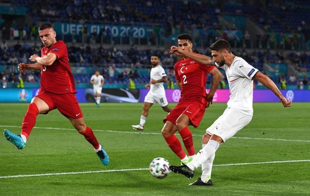 Автогол Демірала - перший гол чемпіонату Європи