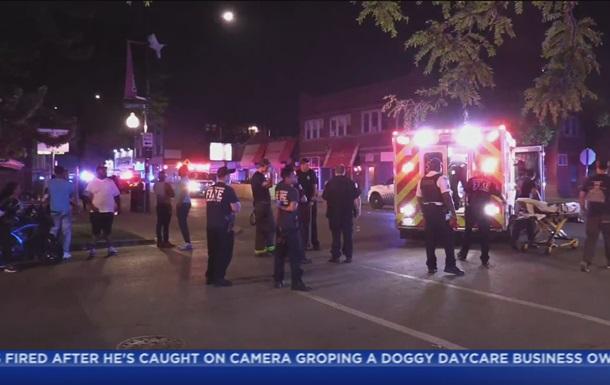 У Чикаго розстріляли групу осіб: один загиблий і дев ять поранених