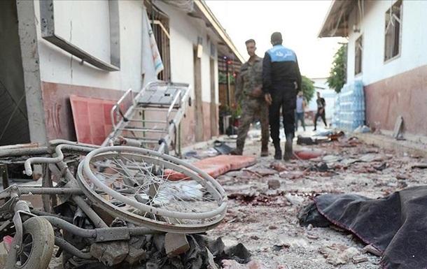 У Сирії під час атаки на лікарню загинуло 13 осіб