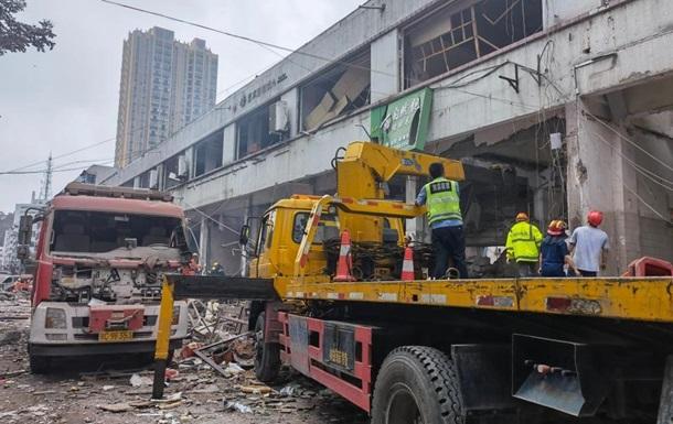 В Китае на рынке взорвался газ: 11 жертв и 144 пострадавших
