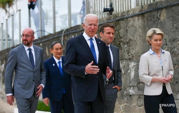 G7 звернулася до Росії через конфлікт в Україні
