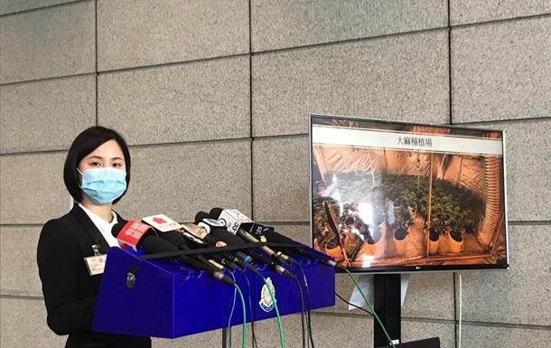 В Гонконге арестовано 184 человека в ходе операции по борьбе с наркотиками