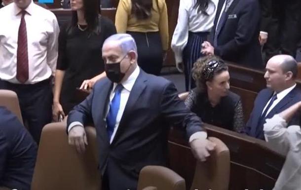 Нетаньягу помилився кріслом в парламенті