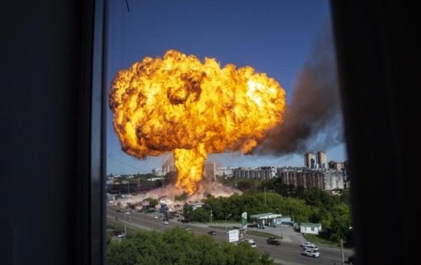 В Новосибирске при взрыве на АЗС пострадали 25 человек