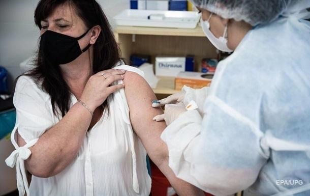 За сутки вакцинировали более 50 тысяч украинцев