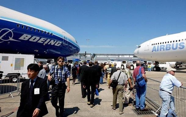 США и ЕС прекратят торговый спор между Boeing и Airbus