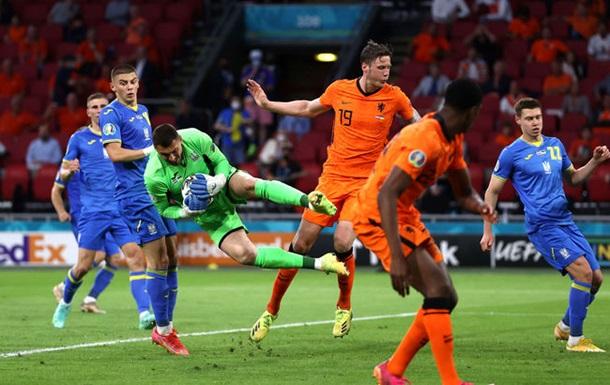 Нидерланды - Украина 3-2. Онлайн-трансляция Евро-2020