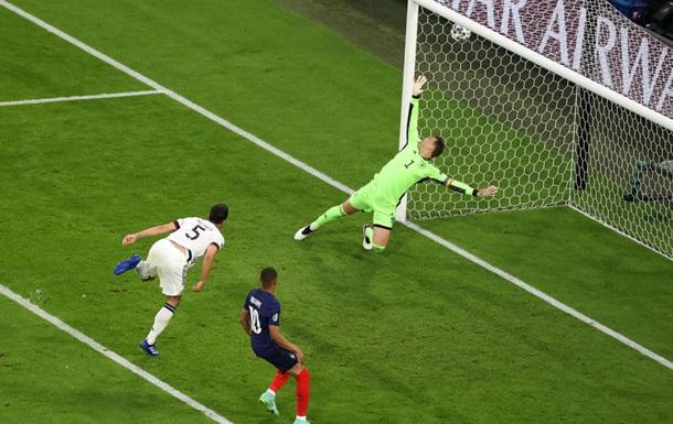 Франція обіграла Німеччину завдяки автоголу Хуммельса
