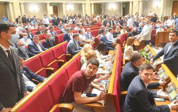 В Україні партії в 2020 році профінансували на 2,29 млрд гривень
