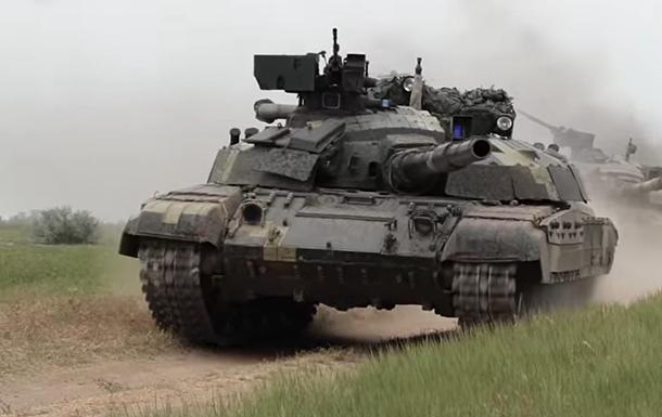В Херсонской области ВСУ провели танковые учения