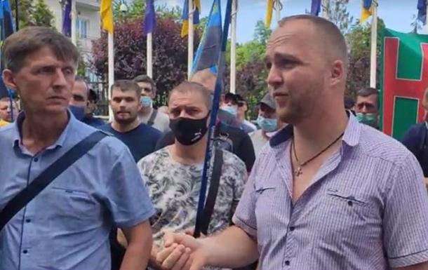 У Києві протестують шахтарі уранової галузі
