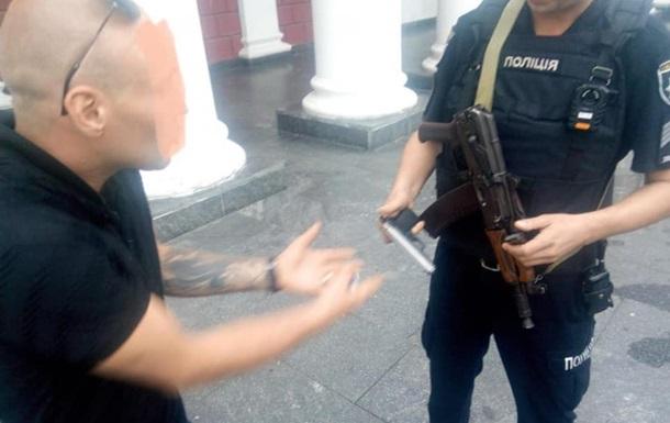 В Одесі стріляли біля мерії