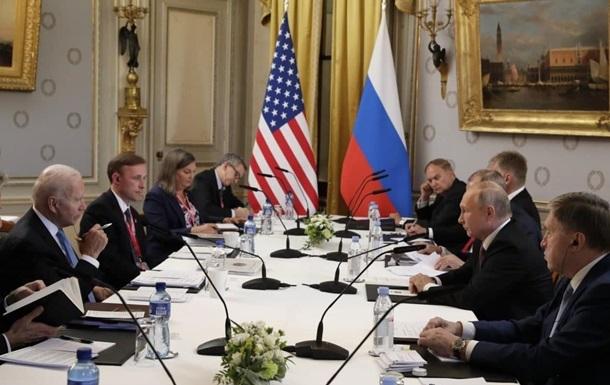 Завершилися переговори Байдена з Путіним